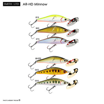 Poisson nageur SMITH ar-hd minnow