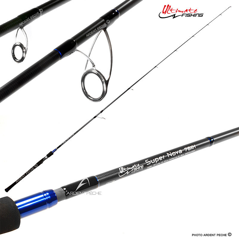 CANNE A PECHE ULTIMATE FISHING ARMAGEDDON 50UL Prix pas