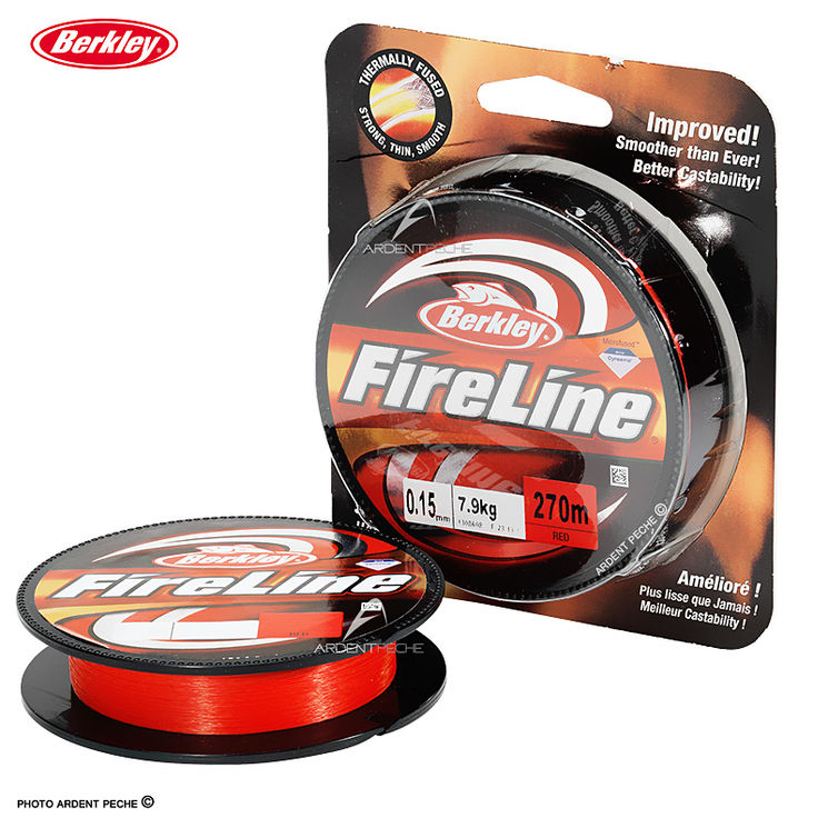 Tresse BERKLEY fireline Red 2014
