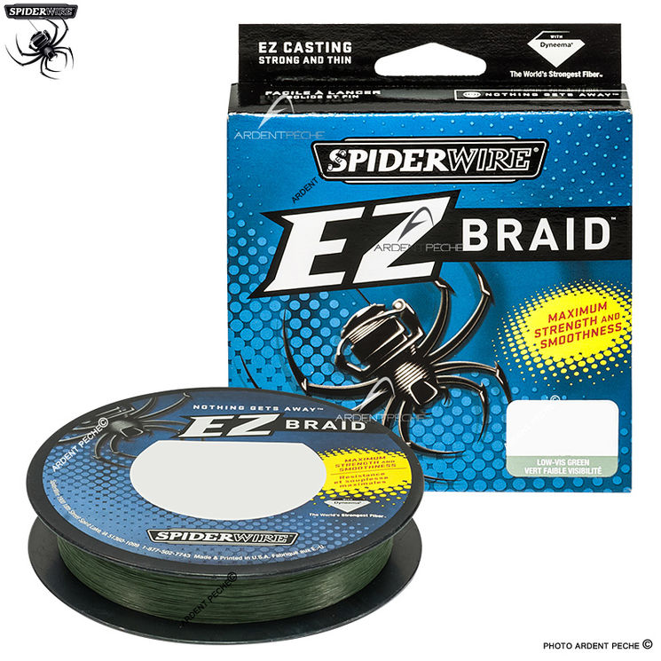 Tresse SPIDERWIRE EZ Braid lo vis green 270m