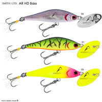 voir Poisson nageur SMITH AR HD Minnow 45 Bass