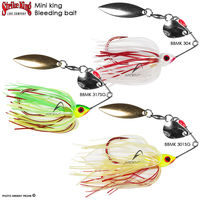 voir Spinnerbait STRIKE KING Mini king Bleeding bait