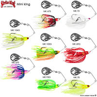 voir Spinnerbait STRIKE KING mini king