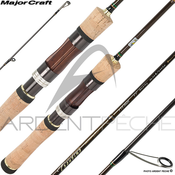 Canne MAJOR CRAFT Troutino spin