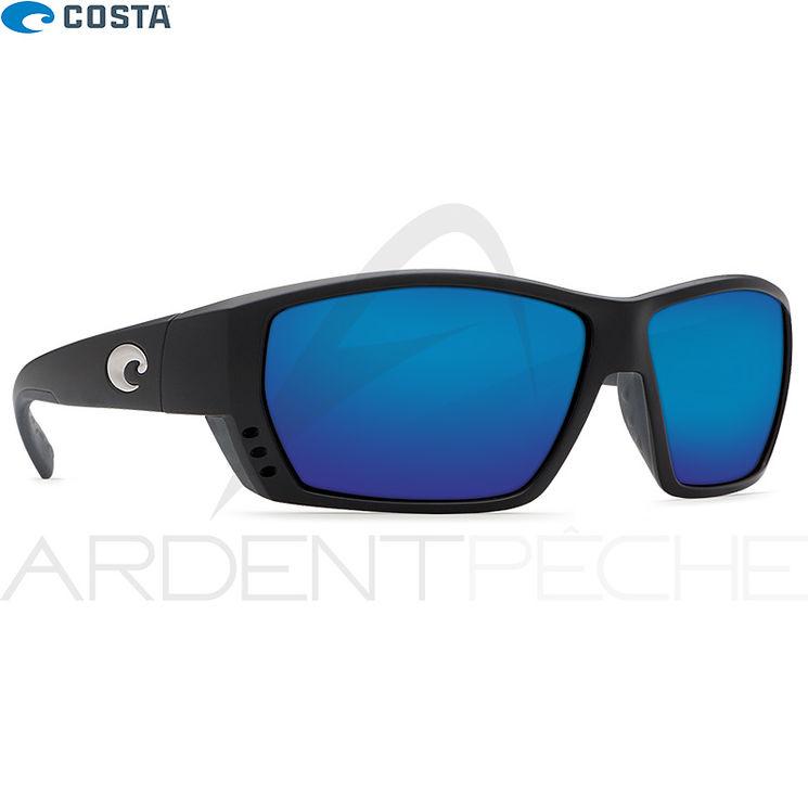 Lunettes polarisantes COSTA Tuna alley matte black 580G Bleu miroir (23) 9cf1b790f10b