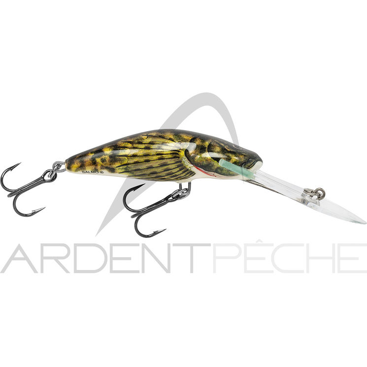 Poisson nageur SALMO Bullhead super deep runner