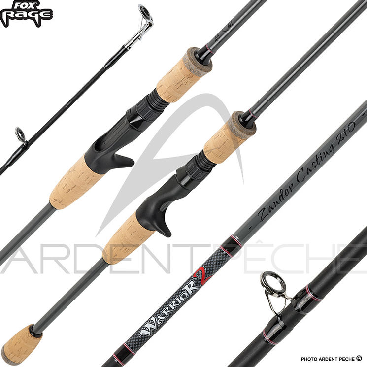 Canne casting FOX RAGE Warrior 2 Pike