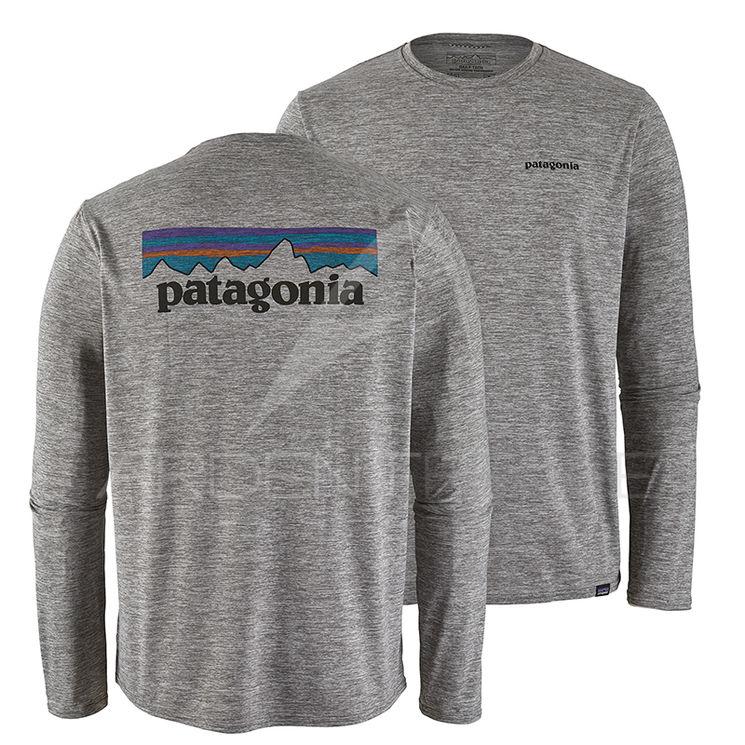 M's P Patagonia Tee Shirt Graphic Logo Cool 6 Cap Daily 3RL4j5A