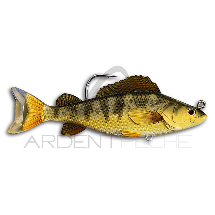 Leurre souple LIVE TARGET Swimbait yellow perch 11.5cm