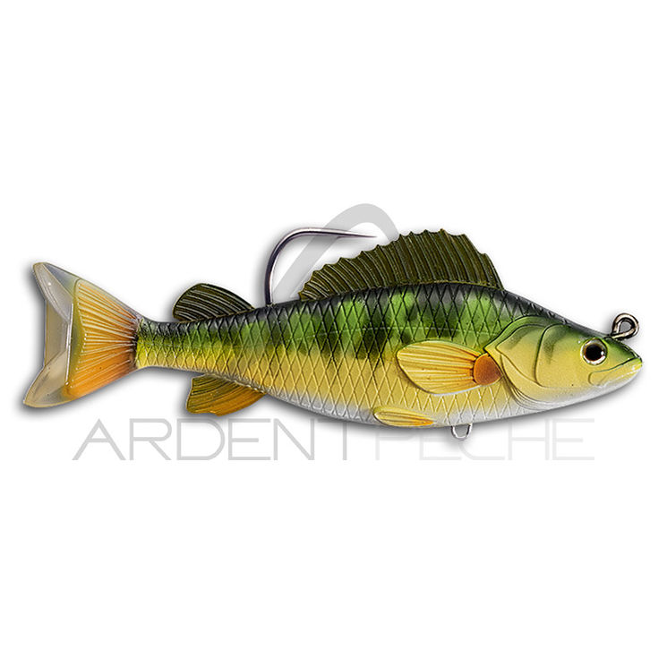 Leurre souple LIVE TARGET Swimbait yellow perch 13.5cm