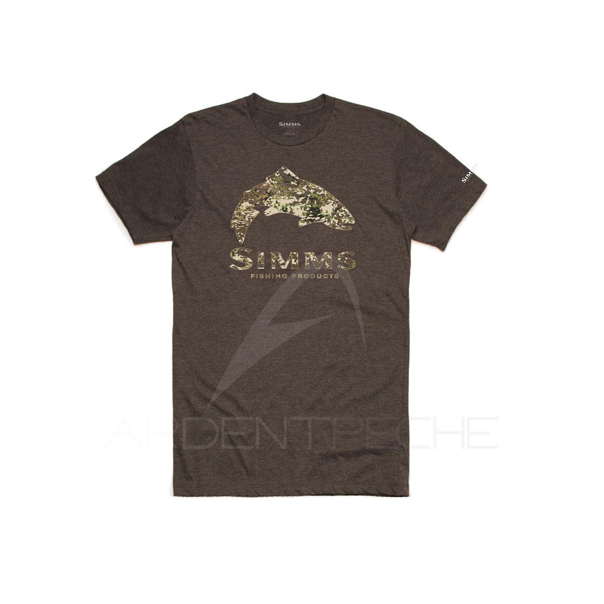 M Fox Rage Camo T-Shirt Grey//Camo Gr