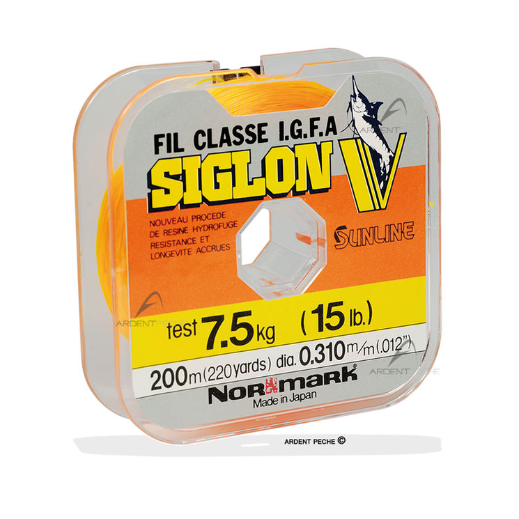 Fils nylon SIGLON V Fluo orange